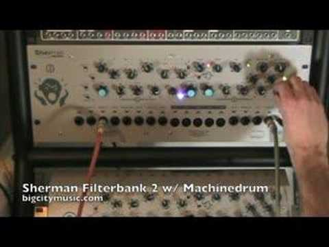 Sherman Filterbank 2 w/ Elektron MachineDrum