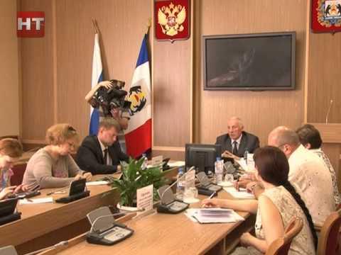 Состоялся брифинг председателя Избирательной комиссии Новгородской области