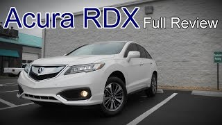 2017 Acura RDX: Full Review