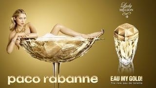 PACO RABANNE - Lady Million Eau My Gold - YouTube