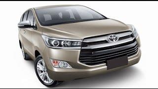 Toyota Innova Crysta MPV Variants Revealed
