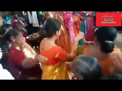 اٹینڈر کی شادی میں ضلع کلکٹر عادل اباد دیویا کی ڈانس کا ویڈیو