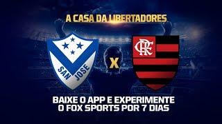 San José x Flamengo - Conmebol Libertadores FOX Sports