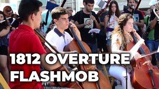 Video 1812 OVERTURE, amazing FLASHMOB MP3, 3GP, MP4, WEBM, AVI, FLV Agustus 2018