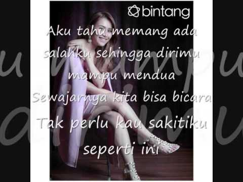 Kesakitanku (Lyric) Cover By Ayu Ting Ting Mp3