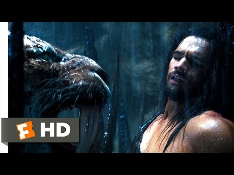 10,000 BC (4/10) Movie CLIP - The Sabretooth Tiger (2008) HD