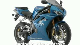 9. 2008 Triumph Daytona 675 Details and Specs