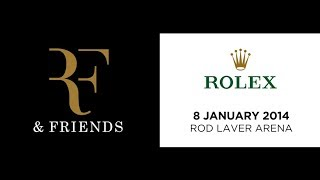 Join Roger Federer, Rod Laver and Jo-Wilfried Tsonga at an intimate night of tennis prestige. The RF and Friends evening allows...