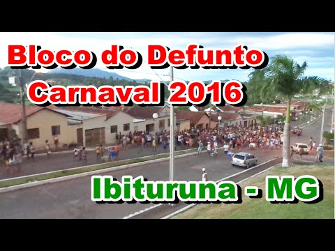 BLOCO DO DEFUNTO EM IBITURUNA - CARNAVAL 2004 (PARTE 3)