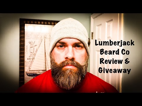 Beard oil - Lumberjack Beard Co Review & Giveaway!!!