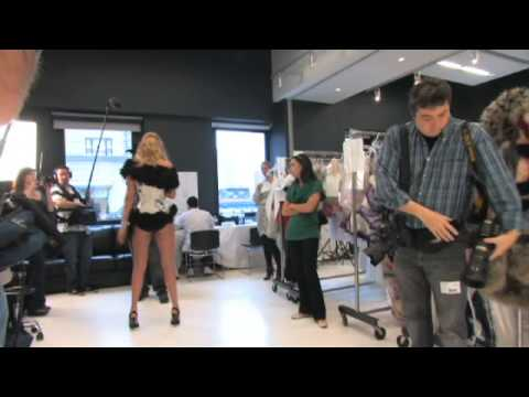 Victoria's Secret Fashion Show 2009 - Model Fittings