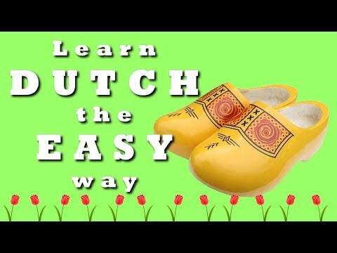 Learn 100 Dutch words - The easy way - Lesson 2