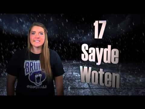 2016 Bellevue University Softball Introductions