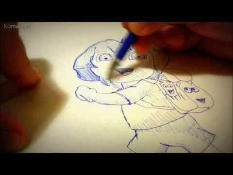 Dora Aventureira (Desenho Livre)