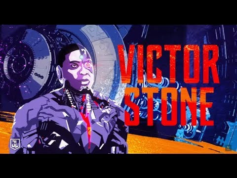 JUSTICE LEAGUE   Victor Stone aka Cyborg