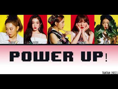 Power Up - Red Velvet Lyrics [Han,Rom,Eng] {Member Coded}