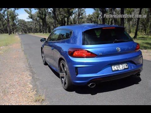 2015 Volkswagen Scirocco R 0-100km/h & engine sound (DSG)