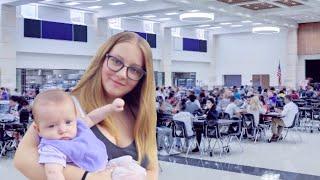 Bringing My Baby To School | Teen Mom Vlog