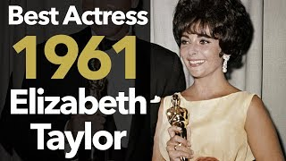 Video Best Actress 1961: Elizabeth Taylor wins for Butterfield 8 MP3, 3GP, MP4, WEBM, AVI, FLV November 2018