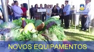 Prefeitura de Dourados entrega equipamentos a entreposto do mel