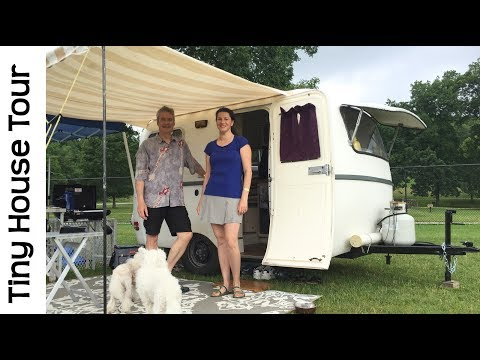 Tour of Tiny House Camper Bambi Size Travel Trailer