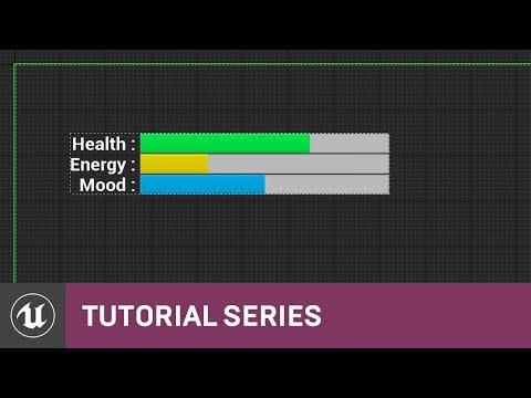 UMG UI Inventory: Intro to UMG & Player Condition Setup | 03 | v4.8 Tutorial Series | Unreal Engine