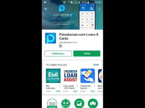 Video Paisa Bazaar Loan, Credit Score and Credit Card All in One App. download in MP3, 3GP, MP4, WEBM, AVI, FLV January 2017