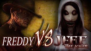 Video Freddy vs Jeff the Killer | Creepypasta meets Nightmare on Elm St. | Horror free full movie MP3, 3GP, MP4, WEBM, AVI, FLV Mei 2019