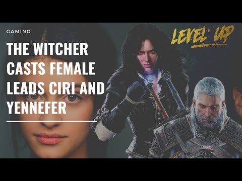 The Witcher casts female leads Ciri and Yennefer #thewitcher #netflix #gaming