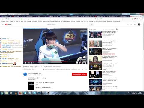 Starcraft 2 [] BratOK [] SC2 Вечерний ладдер Q(._.Q) (видео)