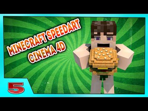 Minecraft Speedart - Cinema 4D-Для LZG(lomalo82)