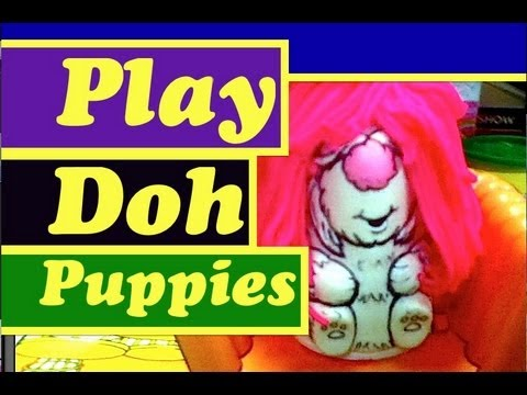 Play Doh Fuzzy Pumper Pet Shop Salon Barber Shop Fluppy Dogs Toy Review by Mike Mozart