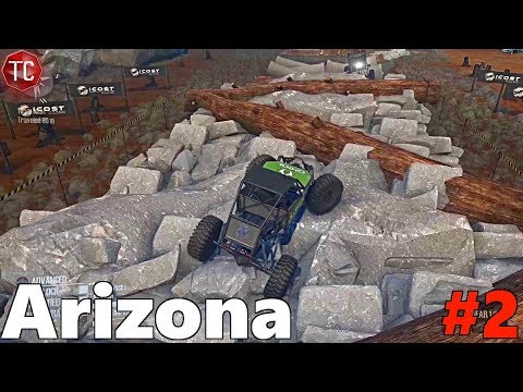 SpinTires MudRunner: ARIZONA, Part 2! Mantis Crawler Gets Stuck!