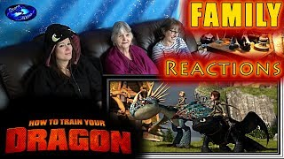 Video How to Train Your Dragon | FAMILY Reactions | Fair Use MP3, 3GP, MP4, WEBM, AVI, FLV Agustus 2018