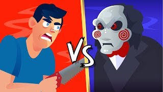 Video YOU vs JIGSAW (Saw Movie) Could You Defeat and Survive Him?    FUNNY ANIMATION CHALLENGE MP3, 3GP, MP4, WEBM, AVI, FLV September 2019