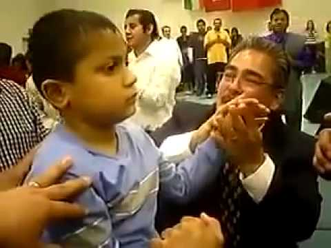 Boy healed of cerebral palsy Puerto Rico