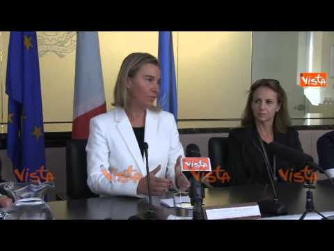 Mogherini continuano contatti con India con discrezione e determinazione