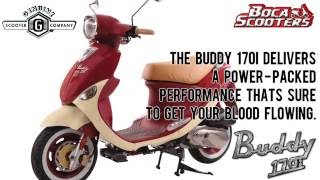 1. GENUINE BUDDY 170i (OVERVIEW) by Boca Scooters