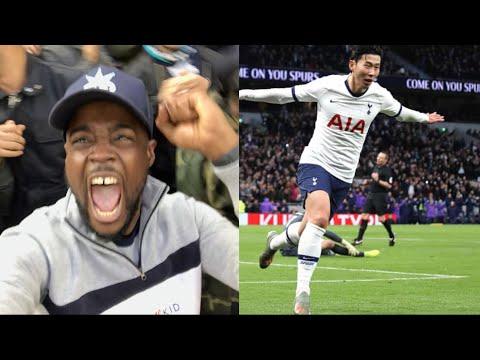 HEUNG MIN SON FIRE 손흥민 WHAT A GOAL! HARRY CLASS A DOUBLE Tottenham (5) vs Burnley (0) EXPRESSIONS