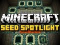 Minecraft Seed Spotlight #8 - FLOATING STRONGHOLD (HD)