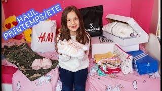 BIG HAUL PRINTEMPS/ETE - begummy, adidas, primark, H&M, onepiece, coup-de-coeur !!
