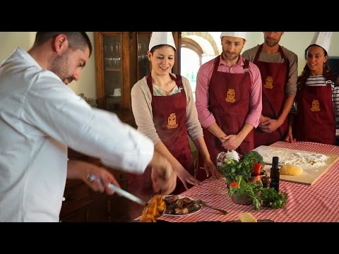 "Great Cooking Class At CASTELLO BANFI ""IL BORGO"" -  Montalcino TUSCANY / ITALY"