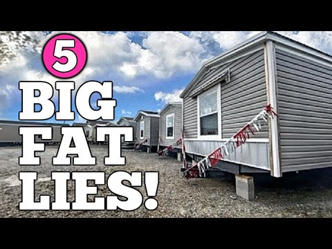 5 Biggest Lies About Manufactured (Mobile) Homes