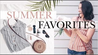 Summer Must-Haves! | MY FAVORITE THINGS | Beauty, Lifestyle, Kids' Stuff + More! | Natalie Bennett