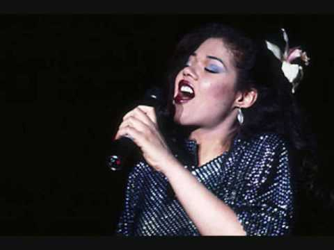 Angela Bofill - Angela singing Betcha By Golly Wow in memory of Phyllis Hyman and Grover Washington Jr.