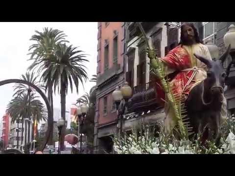 Procesión de La Burrita San Telmo Semana Santa 2015 Las Palmas de Gran Canaria