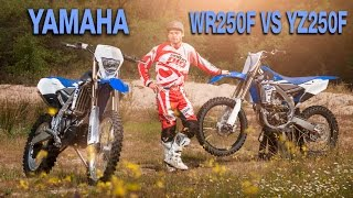 8. Yamaha WR250F VS YZ250F, test Enduropro