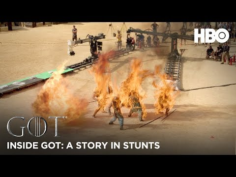 An Inside Look at the Amazing Stunts in Game of