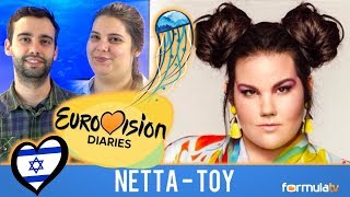 "Video EUROVISIÓN 2018 ISRAEL: Netta - ""Toy"" ¿FAVORITA? REACCIÓN 