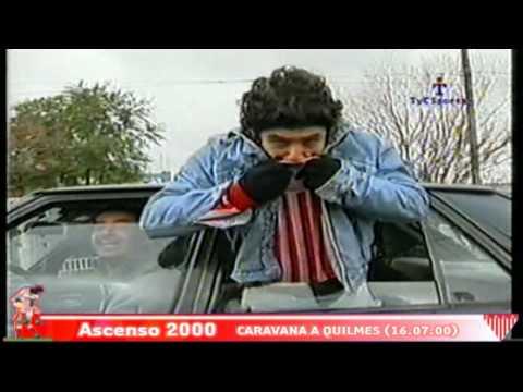 Ascenso a Primera División - Caravana a Quilmes 16.07.2000 - La Banda Descontrolada - Los Andes